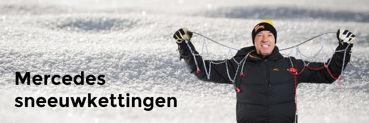 Mercedes sneeuwkettingen